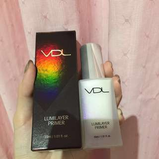 BNIB VDL Lumilayer Primer - 30ml / 12ml