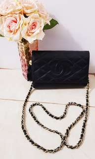 Chanel Vintage with Tassel Chain Crossbody