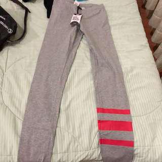 yoga pants cotton on grey