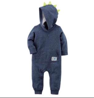 🚚 *6M* Brand New Carter's Spike Jumpsuit For Baby Boy