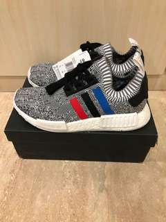 BNDS Adidas NMD PK Tricolor Grey White UK8