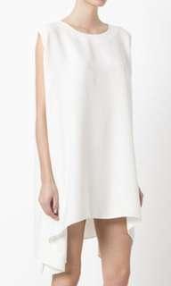 Iro white crepe dress maje skirt top best Gucci Chanel celine bag heels shoes handbag bags