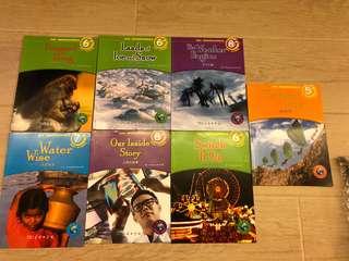 兒童英文科學書-  一套七本 - 商務印書館 - 95% new