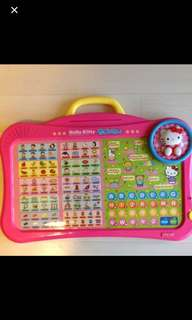韓國hello kitty 學英文唱遊手提玩具
