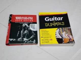 Guitar for Dummies and 100 Killer Licks and Chops for Rock Guitar