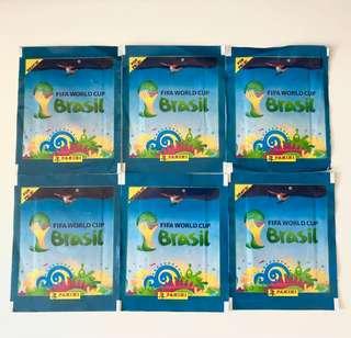 2014 FIFA World Cup Brasil 收藏咭