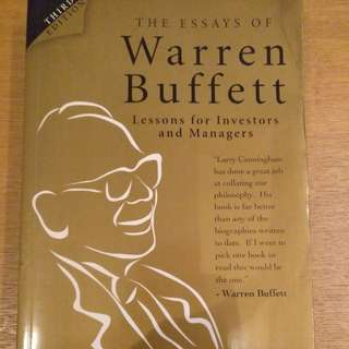 🚚 Essays of Warren Buffett