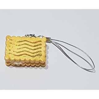 🚚 Cute Handmade Postage Cookie Charm