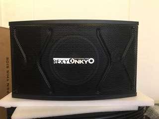 """Rexy Onkyo Karaoke speark 8"""""""
