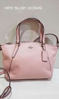 Coach mini kelsey (used once)