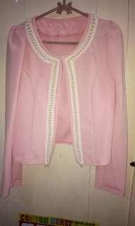 Blazer baby pink