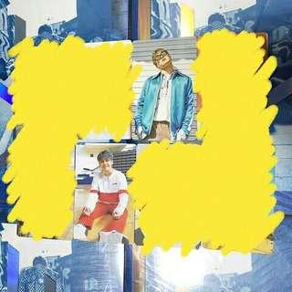 [ WTB/LFS ] 🌻 Hoya 1st Mini Album Shower Photocards