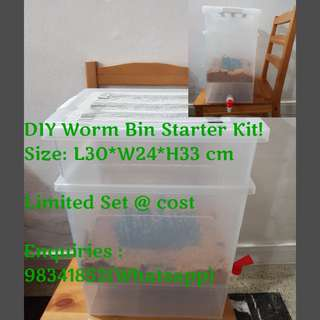 Worm Bin Starter Kit