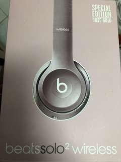 Beats Solo2 Wireless 玫瑰金