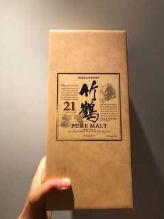 停產絕版 全新 竹鶴21年 Taketsuru 21 Years 700ml, Japanese Whisky 日本威士忌 議價不回