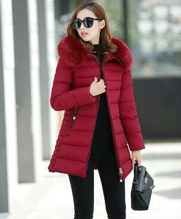 Jaket wanita tebal