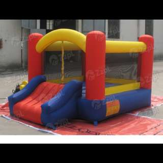 Bouncy castle for party.