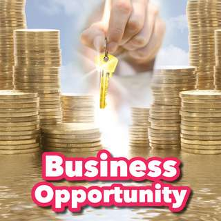 Business Opportunity (商業機會) You Want It, Work For It (你想成功,為這個機會而工作)