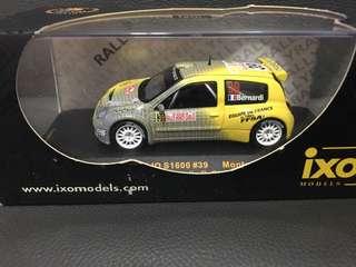 1:43 ixo Renault Clio