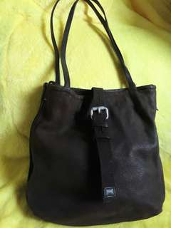 Salad Leather Shoulder Bag