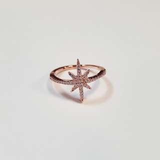 S925 純銀 APM 單星戒指