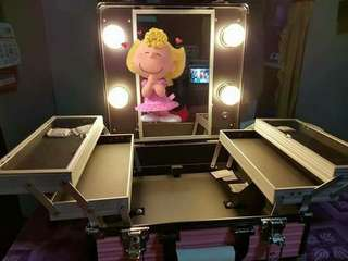 Vanity Case with Mirror