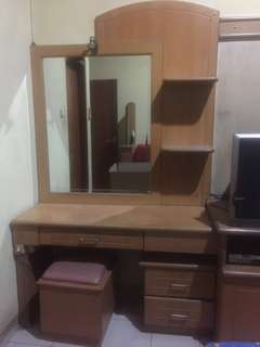 Kamar Set Perabotan Perabot Furniture Mebel Kayu