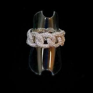 s925 APM 純銀 全圈 閃石 戒指