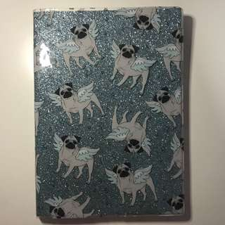 Pugs A5 Lined Book