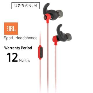 JBL Reflect Mini Sports Earphones (Red)