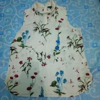 Executive blouse flower