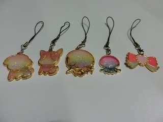 Handmade resin keychain