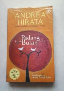 Pre Order Book - Padang Bulan by Andrea Hirata