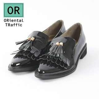 🚚 極新Oriental traffic經典風尚多層流蘇樂福鞋