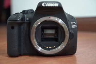 Used Canon 550d body for Sale