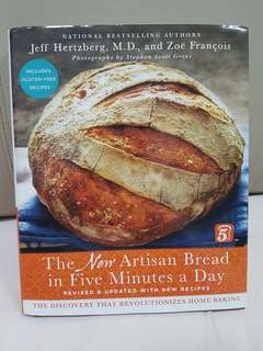 The New Artisan Bread in Five Minutes a Day Baking Book