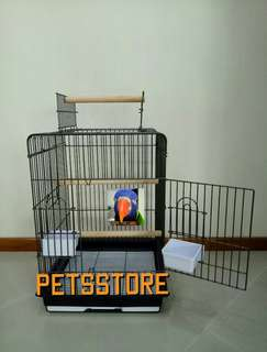 Heavy duty parrot cage