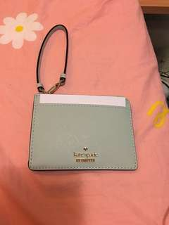 Kate Spade card and key holder