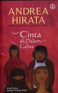 Pre Order Book - Cinta di dalam Gelas by Andrea Hirata