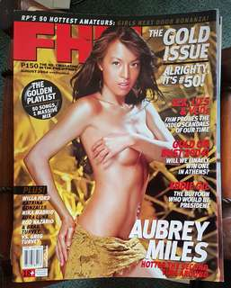 FHM Aubrey Miles August 2004