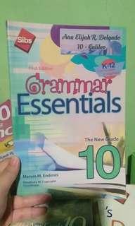 Grammar Essentials GRADE 10
