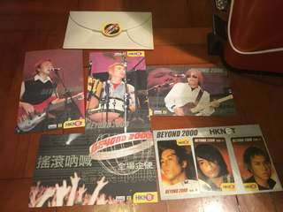 Beyond  1999 啟德機場演唱會官方紀念品