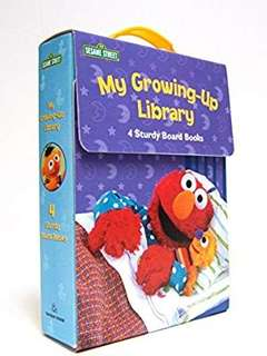 🚚 (Pre-order)  My Growing-Up Library: Sesame Street Board Books