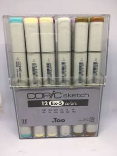 Copic Sketch 12 Ex-5
