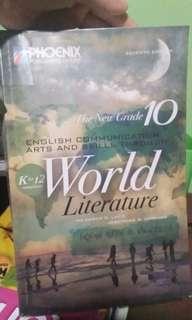 English, Communication, Arts, and Skills Though World Literature GRADE 10