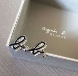 (NEW) Agnes b Crystal Cufflinks 水晶䄂口鈕
