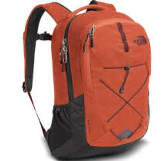 North Face- Jetster 26L backpack, Red, 紅色