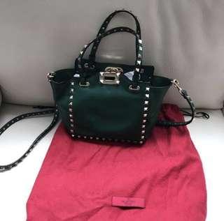 Valentino Rockstud Mini Trapeze Bag