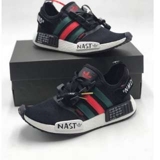 ADIDAS NMD X GUCCI RUNNING SHOES FOR WOMEN (OEM)