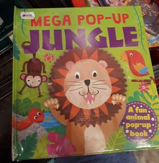 MEGA POP-UP BOOK : JUNGLE